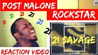 Baixar Post Malone - Rockstar (feat. 21 Savage). [Reaction Video]