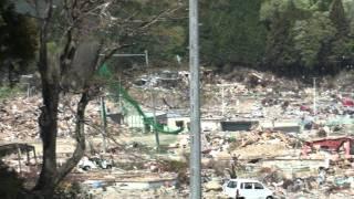 【東日本大震災】宮城県石巻市雄勝町津波被害