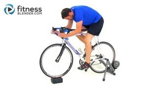 Free Indoor Cycling Workout Video - Interval Cardo Training on an Exercise Bike