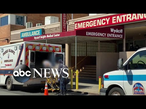 Hospitals Hold On As Pressure Mounts And Death Toll Tops 10K L ABC News