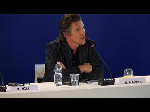 Ethan Hawke talks about FIRST REFORMED at Venice Film Festival 2017