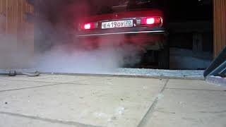 opel ascona b - c20ne - new exhaust