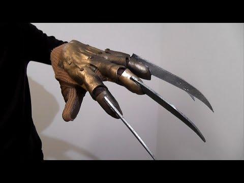 Перчатка фредди крюгера своими руками