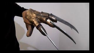 Как сделать перчатку Фредди Крюгера часть 1