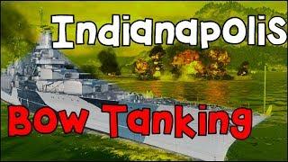 Indianapolis ✖️ brawls BBs - takes 6 kills ✖️ World of Warships