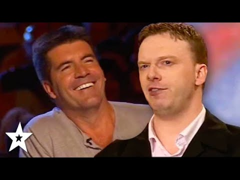 Comedy Impressionist WOWS Simon Cowell on BGT   CLASSIC AUDITION   Got Talent Global