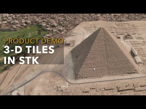 Product Demo: 3-D Tiles in STK