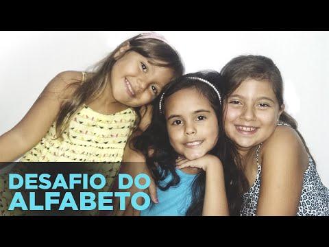Desafio Do Alfabeto Por Larissa Prieto Com Ju E Bela Prieto ❤ #VlogDaLari