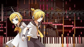 Synthesia: Vocaloid - AntiChlorobenzene / アンチクロロベンゼン | Kagamine Rin | 15,000+ Notes | Black MIDI