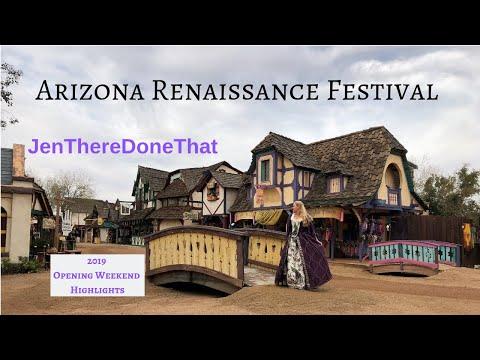 AZ Renaissance Festival Highlights | Opening Weekend January 2019