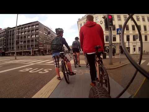 Copenhagen Cycling: Carlsberg Development Area to the Office