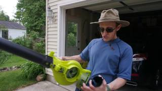 My review of the Sun Joe iON Cordless 3-in-1 Blower/Vacuum/Mulcher with Brushless Motor