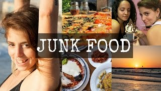 What I Eat | The Ultimate Vegan Junk food Vlog