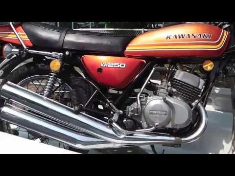 2013/05/26 KAWASAKI KH250(初期型) エンジン始動