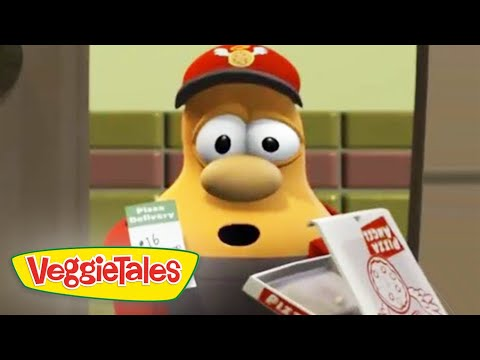 Veggie Tales | Pizza Angel | Veggie Tales Silly Songs With Larry