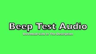 Full Beep Test Audio Track