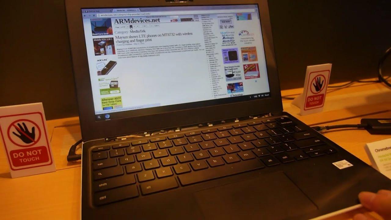 MediaTek Chromebook on ARM Cortex-A72 MT8173 big LITTLE