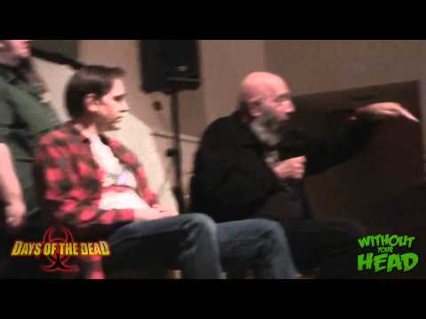Sid Haig & Bill Moseley Days of the Dead Q&A Panel