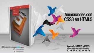 HTML5 y CSS3, Crear Animacion de Objetos