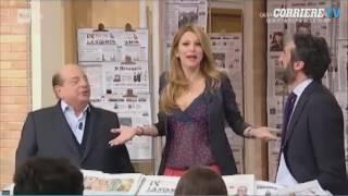 «I Fatti Vostri», Magalli contro Adriana Volpe: «Ma fasse l'affari tuoi, no eh.»