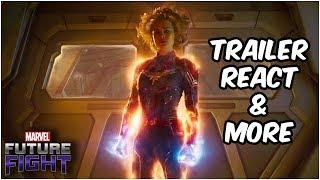 Captain Marvel Trailer Reaction & Theorycrafting! - Marvel Future Fight