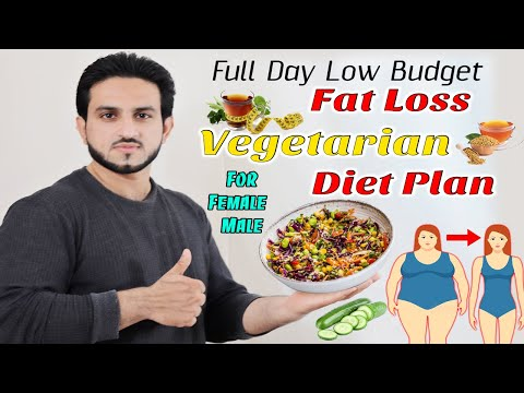 full-day-vegetarian-fat-loss-diet-plan-urdu-hindi