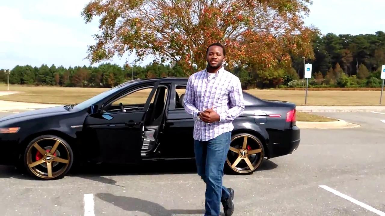ACURA TL On S STR YouTube - Acura tl gold rims