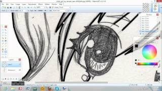 Chibi - how to draw using Paint.NET [ or how to trace ]