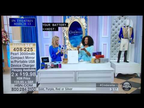 Pearl on Home Shopping Network (HSN)