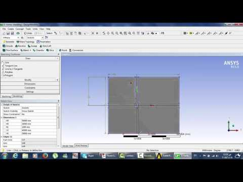 Flow over a cylinder simulation using Ansys fluent