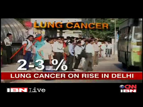 Lung cancer on rise in Delhi due to air pollution
