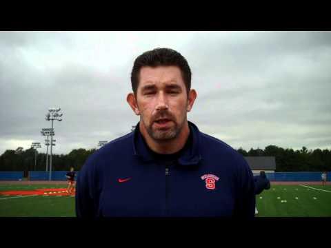 Head Coach Phil Wheddon Previews Pittsburgh & West Virginia - Syracuse Women's Soccer