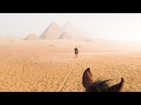 The Best Way to See the Pyramids | BACKPACKING EGYPT #17