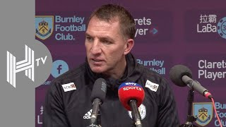 Brendan Rodgers hails Leicester 'character' after stunning Burnley win