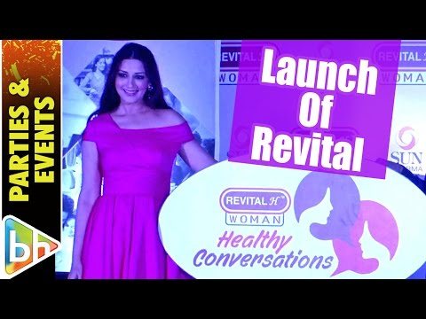 Sonali Bendre Behl | At Launch Of Revital H Woman's Healthy Conversations