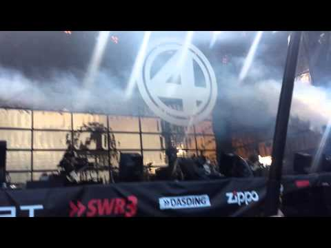 Fanta 4 - Thunder / 25 Intro (live rock n heim 14)