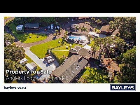 Property For Sale - ANGLERS LODGE, Coromandel, New Zealand
