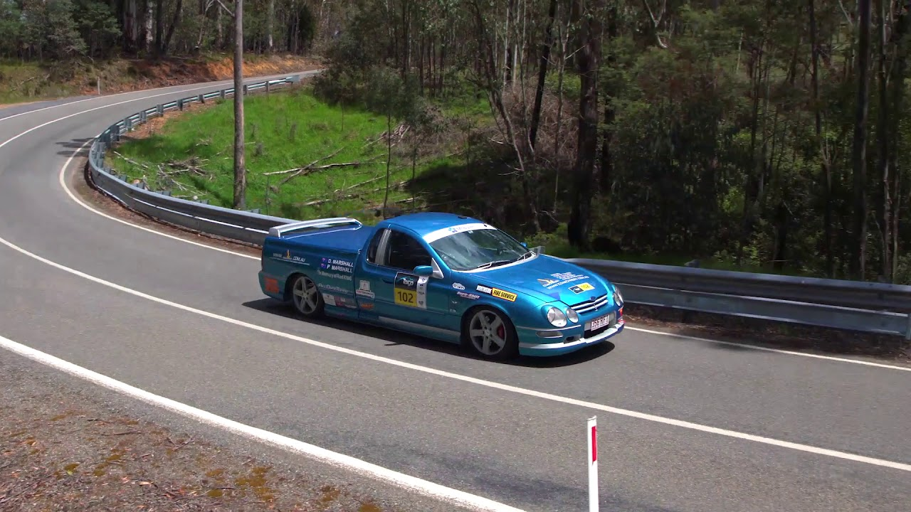 Targa High Country 2018 Ford Falcon Ute Pursuit 250 Pure Sound