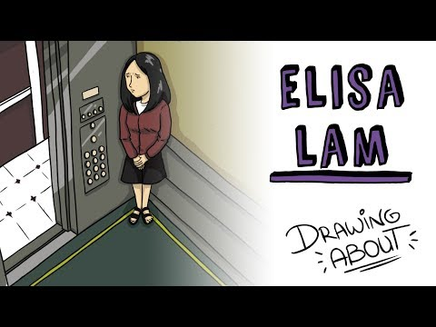 ELISA LAM'S TERRIBLE HISTORY | Draw My Life from the Mysterious Crime of the Cecil Hotel Elevator