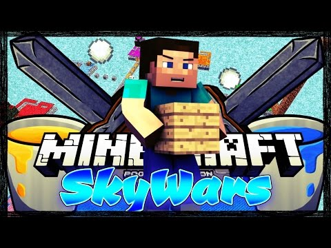 Derpaman And MjSniper Play Skywars | SUBSCRIBE!