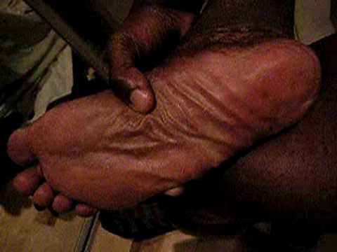 Black gay male feet