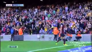 Барселона - Осасуна 7:0.Чемпионат Испании,28-й тур.Обзор матча(, 2014-03-16T18:36:31.000Z)