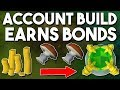How to Build an Account in 6 Hours that Earns Bonds! [P2P] Creating an Account From Scratch! [OSRS]