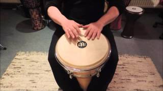 Thommy Puch Percussion: World rhythms on djembe: Samba