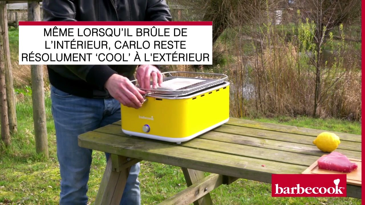 Barbecook Holzkohlegrill Carlo Test : Le barbecue portable carlo barbecook et son thon grillé