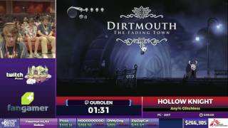 Hollow Knight by Ourolen in 53:31 - SGDQ2017 - Part 42
