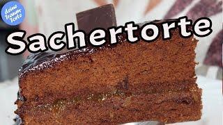 Sachertorte Nach Wiener Art - Sachertorte Rezept Mit Glasur - Kuchen Rezepte - Wiener Küche