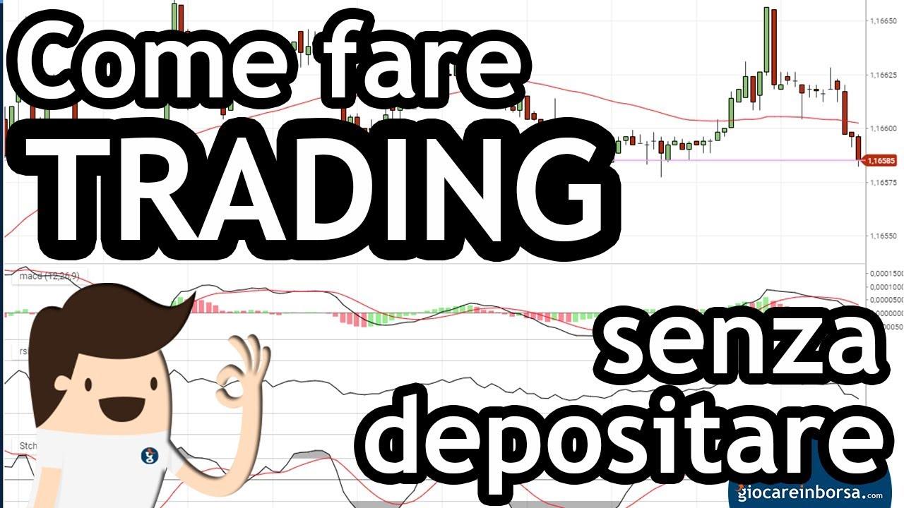 Trading senza deposito