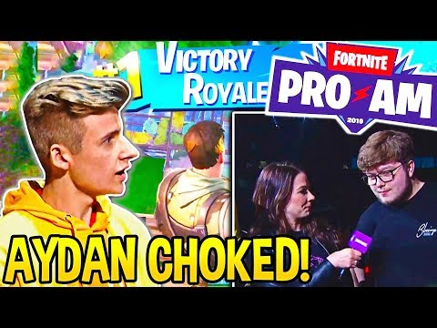 Symfuhny *SHOCKS EVERYONE* after *MOST INTENSE* FINAL 1v1 vs GHOST AYDAN in PRO-AM!