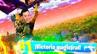 A POR VICTORIAS ÉPICAS en el NUEVO MAPA de Fortnite: Battle Royale! - TheGrefg